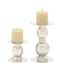 Deco 79 Aluminum Candle Holder, 13 by 7-Inch, Set of 2 Deco 79 http://smile.amazon.com/dp/B00KR8R0R6/ref=cm_sw_r_pi_dp_oSq4ub0BFNA8X