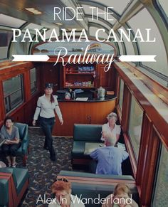 An amazing experience when traveling through #CentralAmerica -- Riding from Pacific Coast to the Atlantic across Panama on the country's iconic Panama Canal Railway | Alex in Wanderland