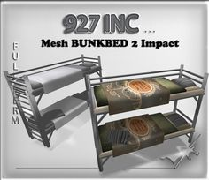 mesh bunk bed full perm 2 impact