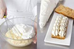Crème patissière légère à agrémenter avec caramel beurre salé + crumble et spéculoos