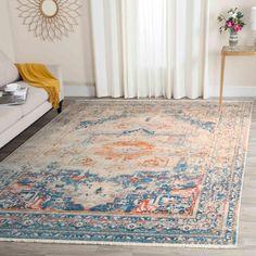 Vintage Persian Collection VTP438B Color: Blue / Multi - #rug #carpet #safavieh #safaviehrug  #trendy #homedecor #homeaccents #shophome