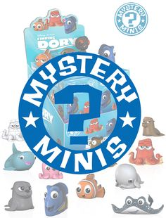 Have you seen her? Bring home the search for Dory with this collection of Mystery Minis