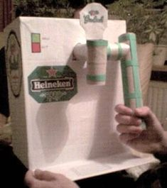Beertender voor man -- Knutsel je ook mee? Volvo, Valentine Box, Cool Diy, Diy For Kids, Fathers Day, Diy And Crafts, Santa Gifts, Cool Stuff, Creative