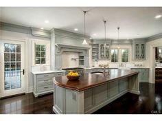 Great Kitchen by Grayson De Vere Design Kitchen Island, Kitchens, Wood, Kitchen Ideas, Design, Home Decor, Island Kitchen, Decoration Home, Woodwind Instrument