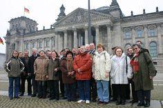 21. Februar 2008: 30 politisch aktive Bürger aus dem Landkreis Nordhausen mit Kreistagsabgeordnetem Mike Schröter.