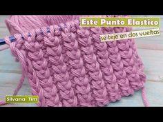 Si no sabes que Punto elegir para Tejer Gorro a Dos Agujas te recomiendo este punto elastico № 1118 - YouTube Diy Crafts Hacks, Crochet Tablecloth, Merino Wool Blanket, Crochet Hats, Knitting, Youtube, Stitches, Tutorials, Fashion