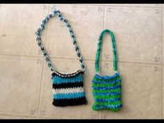 Make a Purse on a loom Learning with J J Rainbow Loom Creations, How To Make Purses, Watch V, Crochet Necklace, Make It Yourself, Learning, Youtube, Studying, Teaching