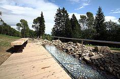 Balneopark - Priessnitzovy přírodní lázně horních adolních končetin - Lázně, wellness, relaxace - Jeseník - oficiální stránky města