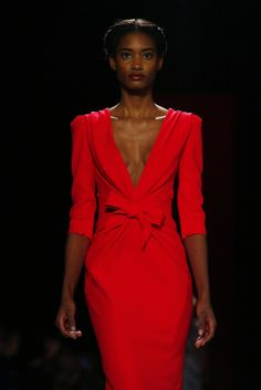 Fashion Week New York 2013, Carolina Herrera (Foto: Reuters). #newyork #fashionweek #herrera www.noz.de/69528453/