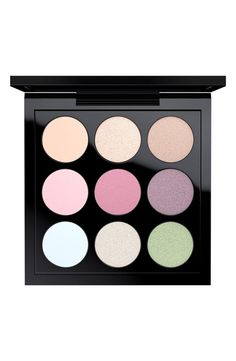 Spring into the upcoming season with this pocket-sized eyeshadow palette from MAC. It features nine soft and smooth pastel hues. Perfect for mixing and matching!
