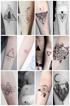 The most beautiful triangle tattoos (and their meaning) - One Ha .- De allermooiste driehoek tattoos (en hun betekenis) – One Hand in my Pocket The most beautiful triangle tattoos (and their meaning) - Hand Tattoos, Dreieckiges Tattoos, Body Art Tattoos, Sleeve Tattoos, Rosary Tattoos, Wolf Tattoos, Stomach Tattoos, Ankle Tattoos, Celtic Tattoos