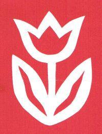 Stencil Designs, Stencils, Flag, Templates, Spring, Preschool, Flowers, Tulips, Hipster Stuff
