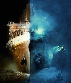 The 40 Most Breathtaking Abandoned Places In The World Titanic, James Cameron movie. This picture illustrates the world and the under world, and the separation between love. Orpheus remains above ground and Eurydice sank to the underground with the Rms Titanic, Titanic Real, Film Titanic, Titanic Sinking, Titanic History, Ancient History, Lego Titanic, Titanic Museum, Titanic Underwater