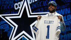 Ezekiel Elliot drafted by the #Cowboys (2016)