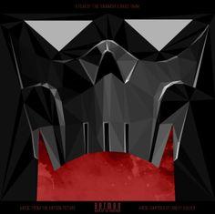 Batman Mask of Phantasm Vinyl Soundtrack concept cover
