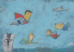 Turs Ilustración Natacha Goransky, Superheroes