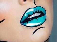 "13.3k Likes, 36 Comments - @meltcosmetics on Instagram: ""Loving @jessicarose_makeup pop art lips! Lipstick: BLITZED 🐬🐬 #meltcosmetics #meltblitzed"""