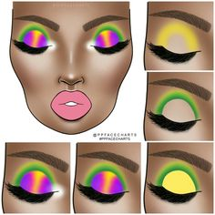 Image discovered by Find images and videos about beauty, art and aesthetic on We Heart It - the app to get lost in what you love. Halo Eye Makeup, Dark Skin Makeup, Sexy Makeup, Eyeshadow Makeup, Creative Eye Makeup, Unique Makeup, Colorful Eye Makeup, Purple Makeup Looks, Makeup Eye Looks