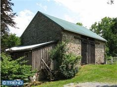 Old stone barn - I don't see too many of these.