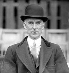 Connie Mack, In baseball from 1884-1950. Always wore a starched collar and a suit as a manager instead of a uniform.