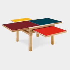 Par4 Coffee Table by Bernard Vuarnesson, 1996 – available at MOMA