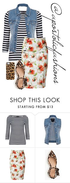 """Apostolic Fashions #1341"" by apostolicfashions ❤ liked on Polyvore featuring M&S, maurices, Raxevsky, J.Crew and Uncommon"