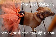 Free doggie tutu pattern from Posh Pooch Designs