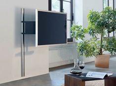 123 TV cabinet by Wissmann raumobjekte Corner Tv, Living Room Modern, Living Spaces, Deco Tv, Tv Holder, Support Mural Tv, Tv Wall Brackets, Tv Unit Furniture, Modern Tv Units