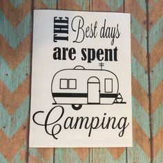 Camping Decal; Happy Camper; Camping Decor; Camping Signs; Camper Decor; Camper…