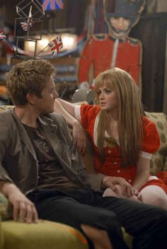 When Rory threw Logan a going away, London-themed party.