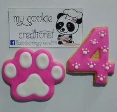 Orden de el pasado fin de semana! ❤ #paw #pawcookies #mycookiecreations #cookies #galletas