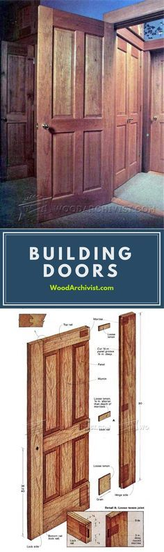 Building Doors - Door Construction and Techniques | WoodArchivist.com