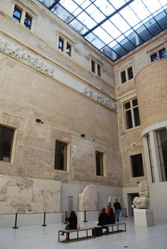 Neues Museum, Berlin, restored by David Chipperfield