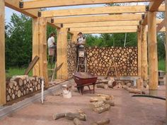 Cordwood/Cob update | House Construction