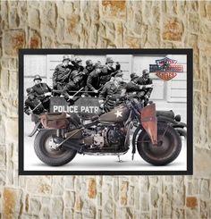 poster moto 4 - 30x40cm