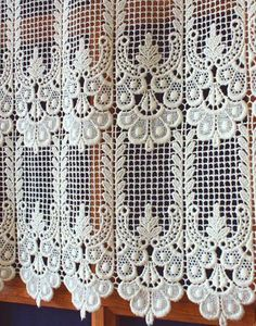 lace curtains fabric lace pinterest window. Black Bedroom Furniture Sets. Home Design Ideas