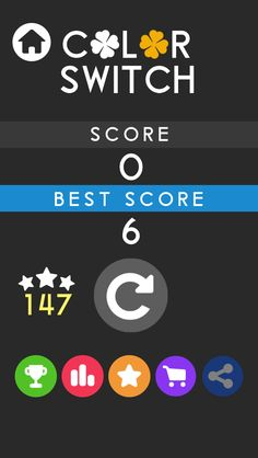 WOW! I got 0 points in Color Switch Circle #colorswitch ! Play with me it's free: https://itunes.apple.com/app/id1053533457