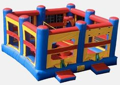 OctoDome Extreme - it's a Twister Mat - A Bouncehouse - A Basketball Arena - a Volleyball Court - a Jousting Match!  Play your way with Party Jumpers - Sarasota and Bradenton (941) 343-0370