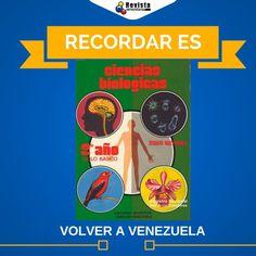 Recuerdas este libro? Seguro que sí. Este jueves de #TBT lo compartimos contigo. Podrás comentarnos tus mejores recuerdos y quién es el autor de ese reconocido libro de biología?  Recuerda etiquetar a tus amigos y compartir este #VolviendoAVzla  #Fun #VenezolanosEnElExterior #ThrowbackThursday #Venezuela