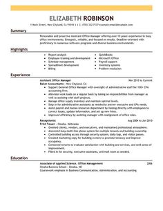 Assistant Manager Resume Format Gorgeous Image Result For 2017 Popular Resume Formats Administration  2018 .