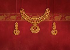 Tanishq's Diwali offering, Shubham, is a range of stunning gold jewellery with intricate designs inspired by Indian temples. Explore the collection