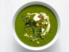 Get Kale-Potato Soup with Bacon Recipe from Food Network