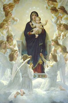 Queen of Angels, by William Bouguereau