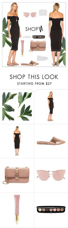 """""""SHOPAA.COM"""" by elly-852 ❤ liked on Polyvore featuring Valentino, So.Ya, AERIN and Marc Jacobs"""