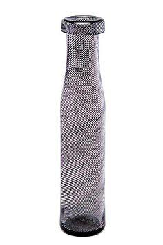 Kaj Franck, FLASKA. - Bukowskis Fused Glass Art, Mosaic Glass, Glass Vase, Glass Design, Design Art, Living Styles, Vases Decor, Carafe, Colored Glass