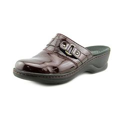 e1916d6d8 Clarks Women s Lexi Lilac Red Clog Mule 8.5 B - Medium Clarks Sandals