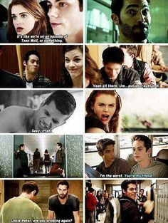 Teen Wolf behind the scenes funny moments Stiles Teen Wolf, Teen Wolf Mtv, Teen Wolf Dylan, Teen Tv, Teen Wolf Cast, Memes Teen Wolf, Teen Wolf Quotes, Teen Wolf Funny, Malia Tate