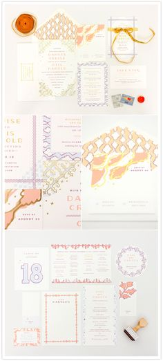 Mae Mae Paperie's new wedding invitation collections!