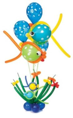 Fish balloon decor