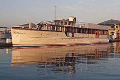 Back afloat, Honey Fitz's refit is nearly complete. JFK's Yacht